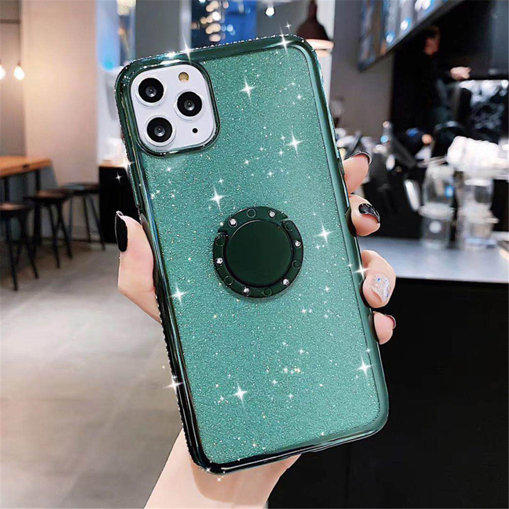 Jewelled Clear iPhone Case 8