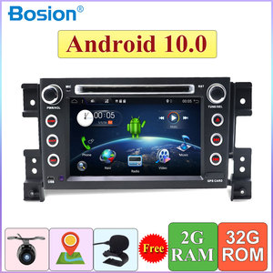 2 din Car Radio For Suzuki Grand Vitara 2005-2018 Car Stereo DVD Multimedia Player Android 10.0 Quad Core cassette tape recorder