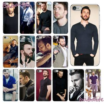 Babaite Chris Evans Phone Case fundas for iPhone 12 6 6S Plus 12 pro max case for X XS MAX image