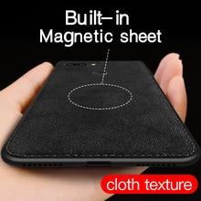 IIOZO Magnetic Cloth Case For Redmi Note