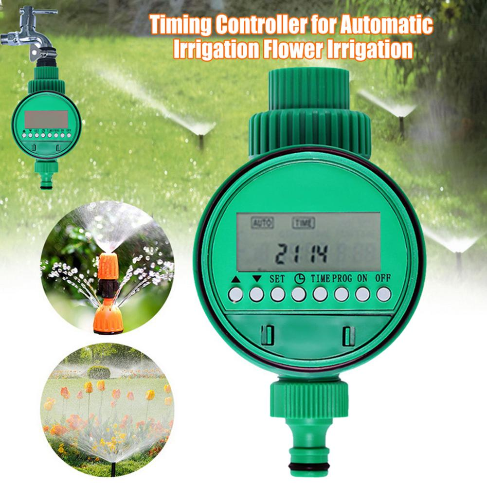 Automatic Smart Irrigation Controller LCD Display Watering Timer Hose Faucet Timer Outdoor Waterproof On Off Garden  tools Garden Water Timers     - title=