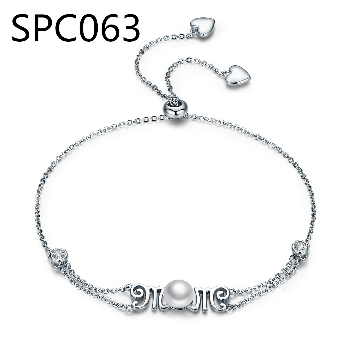 (Without Box) SPC4 European Fashion Blue Ocean Style Glass Charms Bracelets Silver Plated Beads Bracelets Diy Jewelry
