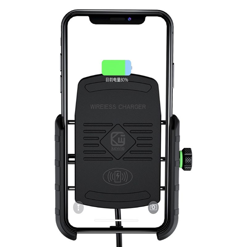 Image 4 - Waterproof 12V Motorcycle Phone Qi Fast Charging Wireless Charger Bracket Holder Mount Stand for iPhone Xs MAX XR X 8 Samsung-in Phone Holders & Stands from Cellphones & Telecommunications