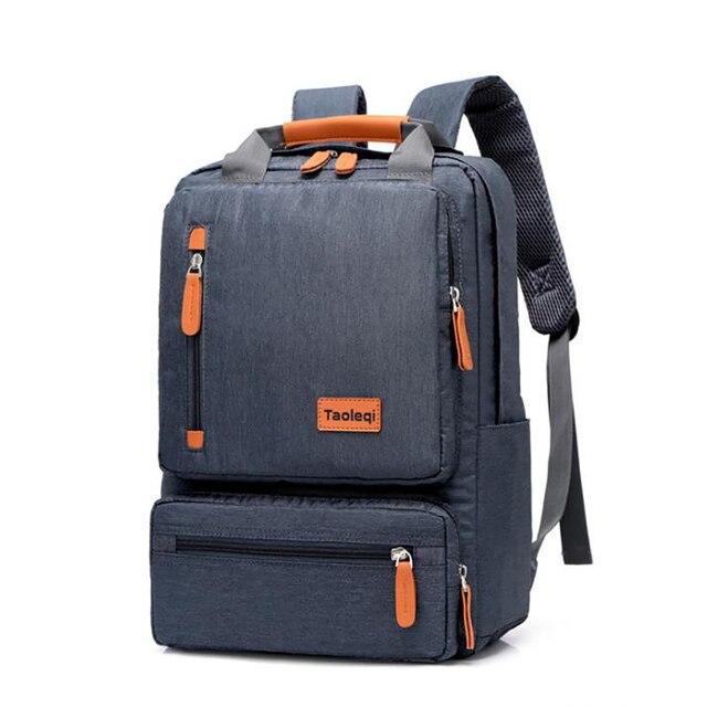 Casual Business Men plecak na komputer lekki 15.6-calowy plecak na laptopa 2020 Lady Anti-theft Travel Backpack szary
