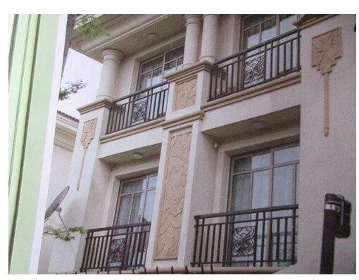 China Iron Company Fancy Steel Metal Aluminium Wrought Iron Balcony,iron Railing,iron Balustrades Design Hc-9