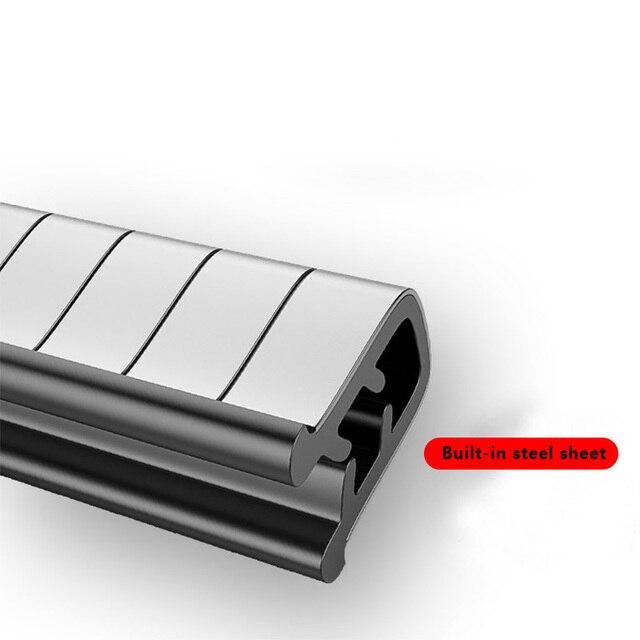Protecteur universel de rayure de bord de porte de voiture bande Anti-Collision 2/10M