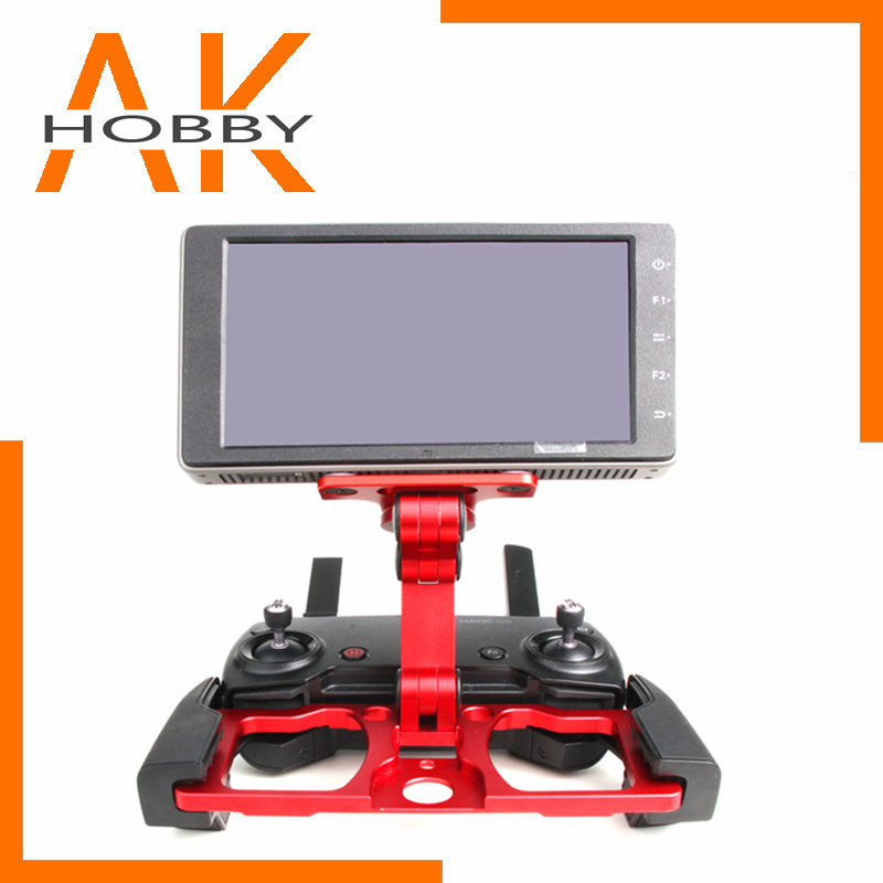 Remote Controller Mount Smartphone Tablet CrystalSky Monitor Bracket Clip Holder Aluminum for DJI Mavic Air 2 Pro 2 Spark Drone