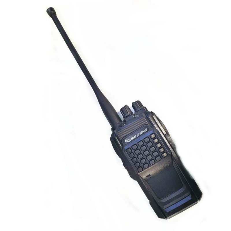 Novo walkie talkie exterior de alta potência tg-550 civil walkie talkie 400-470 mhz