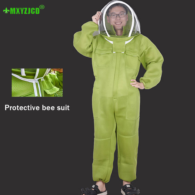 Beekeeper Special Anti-bee Suit Outdoor Body Breathable High-definition Veil Comfortable Skin-friendly Overalls