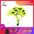 MOON MTB велосипедный спортивный защитный шлем внедорожный супер горный велосипедный шлем для езды на открытом воздухе защитный шлем