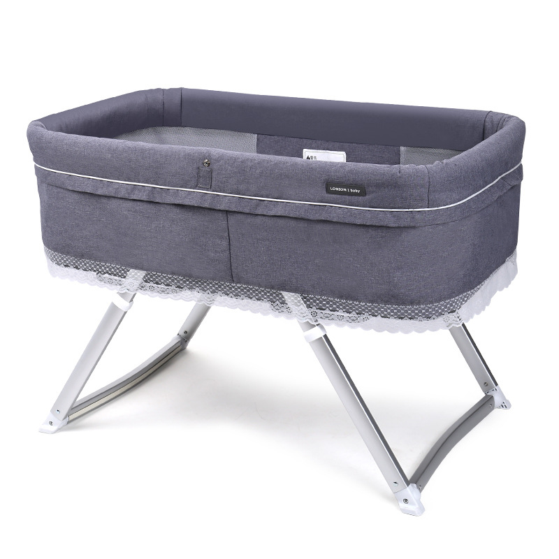 Baby Bed BB Baby Multifunctional European Portable Travel Cradle Bed Ultra-Light Folding Bed Sleeping With Mom