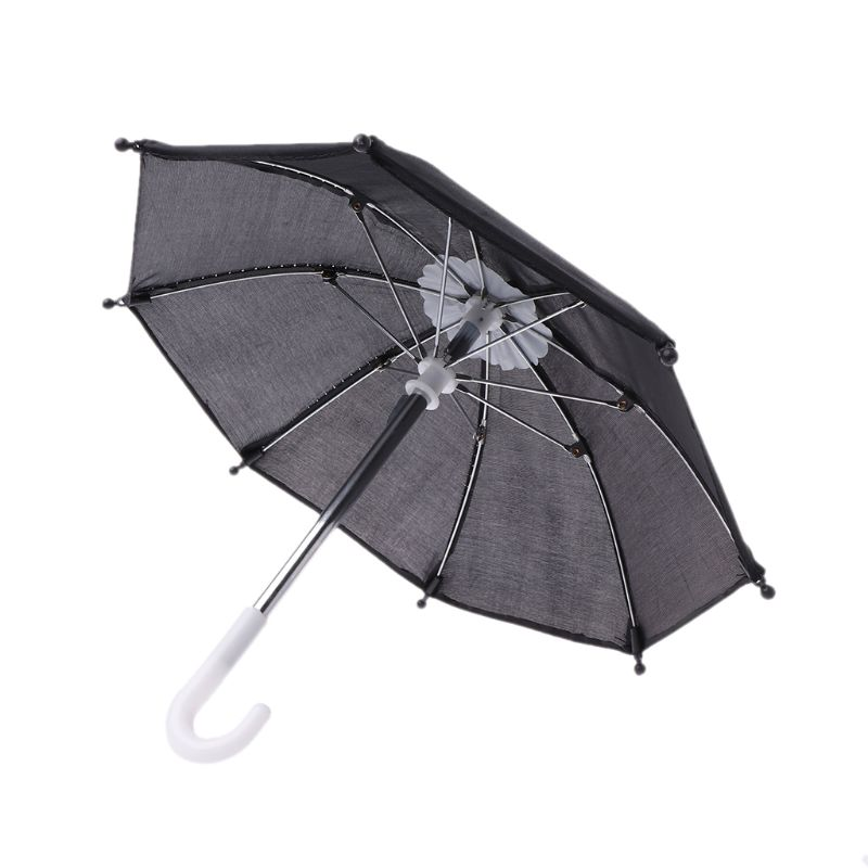 Colorful Mini Umbrella Rain Gear For Blythe American Doll 18 Inch Doll Accessories Baby Photography Props Kids Toy 95AE(China)