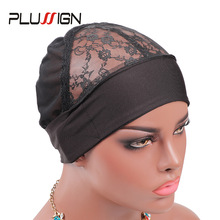 Plussign Wig Band Cap For Edges Wig Net Cap Weaving Caps Headwrap Wigs Caps For Making Wigs Human Hair Headband Wig Making Tools