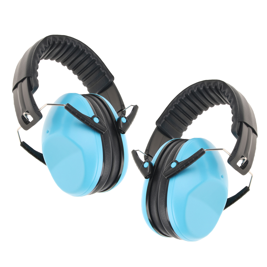 2 Pack Kids Earmuffs Adjustable Hearing Protection Muffs Noise Reduction Baby Ear Protection