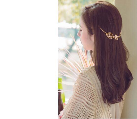 ouro flores folha borla cabeça bandas borboletas