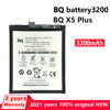 New Original 3200mAh Phone Battery For BQ X5 PLUS Genuine Replacement Moible Phone Batteries Bateria With Tracking number