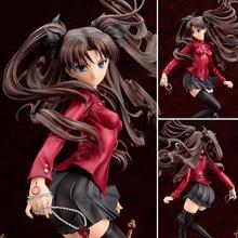 Figura DE ACCIÓN DE Fate saber stay Night WAVE, de fate Tohsaka Rin en rojo, modelo sexy para chica con hoja ilimitada, muñecos japoneses nuevos de 25cm