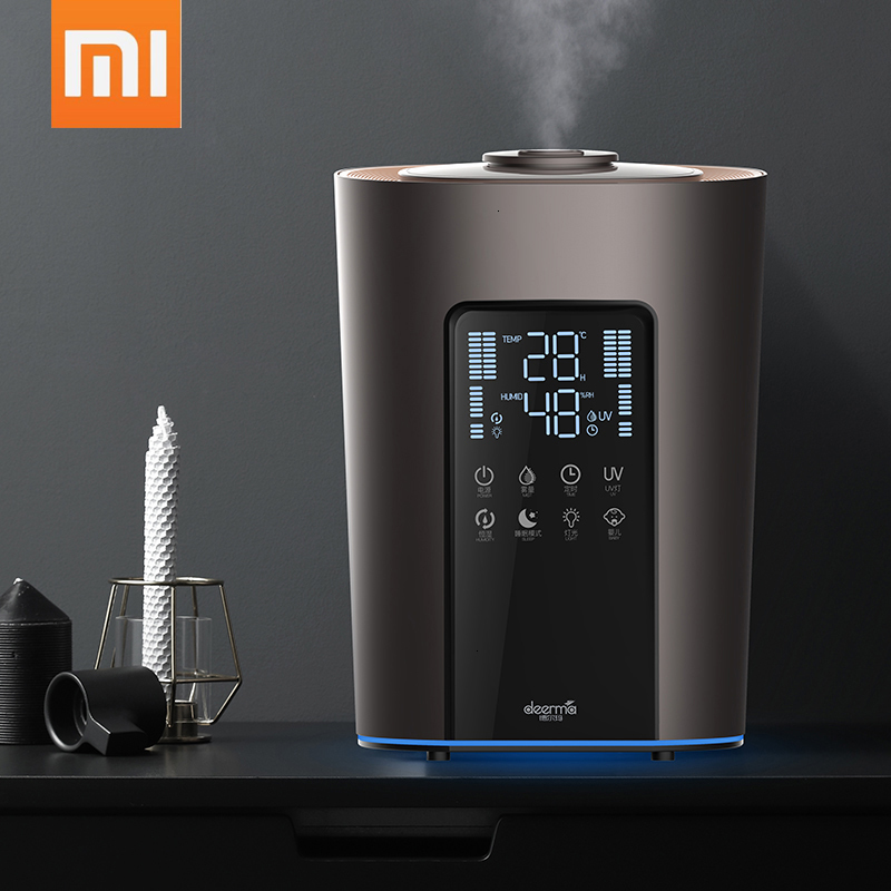 The New Xiaomi Humidifier 5L Will Capacity On Water Intelligence Constant Humidity Purify Increase Wet Household Bedroom