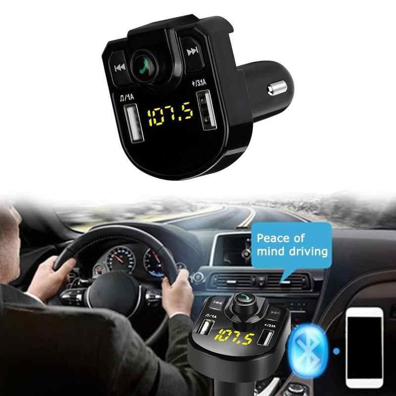 LED FM Transmitter 4,1 EIN bluetooth Car kit Dual USB Auto Ladegerät 3,1 EINE 1A 2 Port USB MP3 musik player für iphone alle handy
