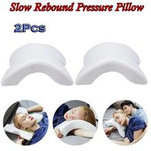 Memory Foam Orthopedic Neck Pillow Multifunction 6 in1 Slow Rebound Pressure Hand & Protection Soft Cervical 2pcs
