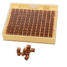 1set Beekeeping Bee Queen Rearing Cell Cup Box kit Plastic Honeycombs Queen Bee Cage Isolation Apiculture Equipment