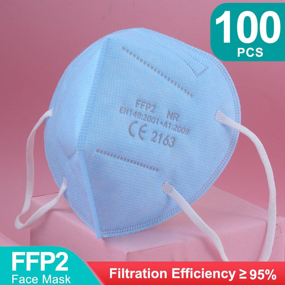 Blue-100pcs