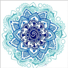 5D Diy full circle diamond painting cross stitch embroidery religious mandala mosaic friend gift