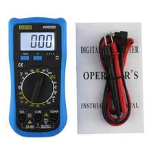 Aneng AN8202 Lcd Digitale Multimeter Backlight Ac/Dc Ohm Voltage Ampèremeter Tester Multifunctionele Huidige Frequentie Condensator Tester(China)