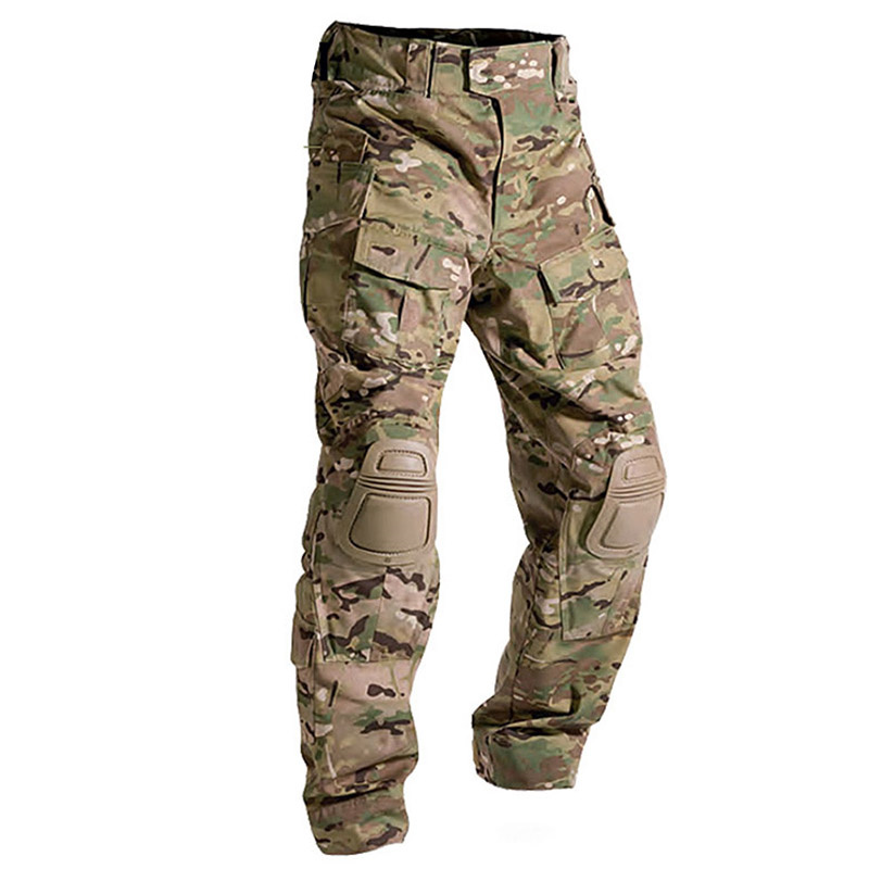 Multicam Camouflage Militar Tactical Pants Army Military Uniform Trouser Frog Paintball Combat Cargo Pants
