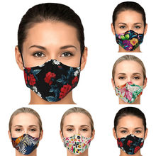 1pc adulto mulher máscara facial + filtros masque lavável reutilizável mascarilla máscara de boca ao ar livre respirável mondkapjes # h21