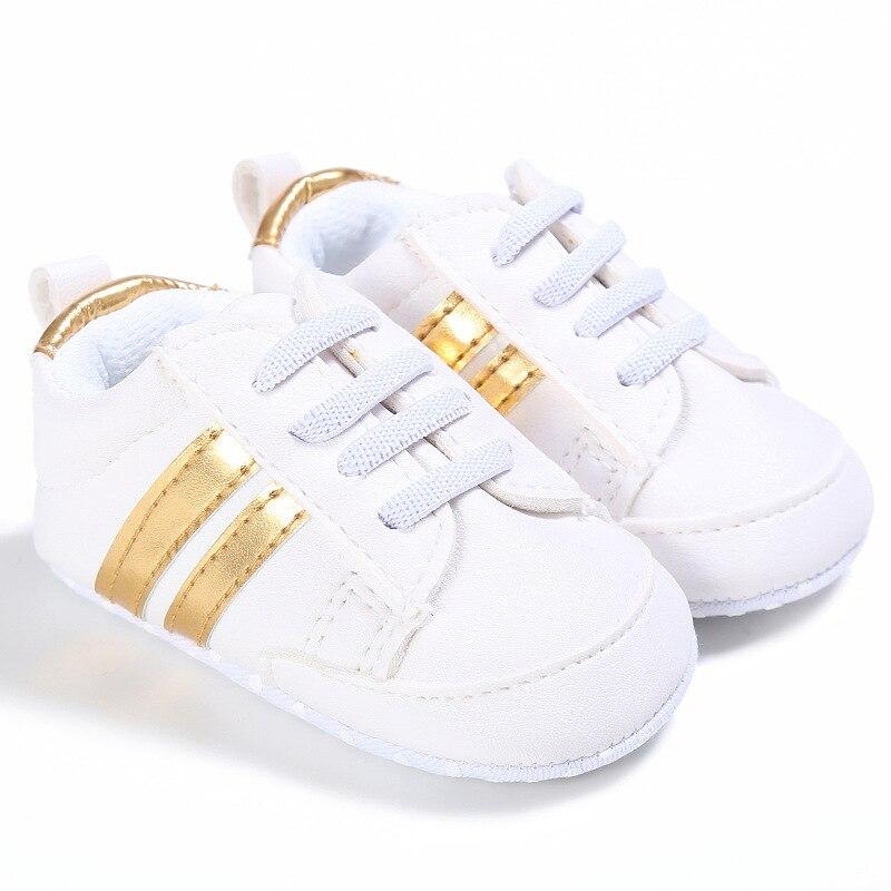 Chaussures bébé Garçon Fille Solide Sneaker Coton Doux Semelle Antidérapante Nouveau-Né Infantile Premiers Marcheurs Bambin décontracté Sport Chaussures de Berceau 12