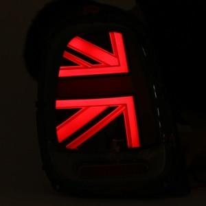 Image 5 - 2PCS Car Tail light Universal For Mini Cooper F55 F56 F57 2014 2015 2016 2017 2018+ LED W/ Bulb Rear Reverse Lamp Tail Fog light