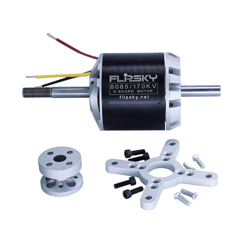 Flipsky Brushless Electric Skateboard Motor 170KV 6000W DC motor 8085 Low Noise Hot Sale Electronic Component Motor image