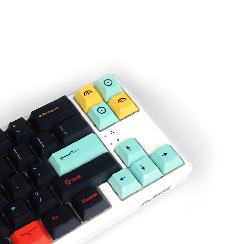 Metropolis Keycap Five-sided Sublimation PBT Mechanical Keyboard 130Keycaps Cherry Profile 87/104 98068 Customized Filco Key-cap