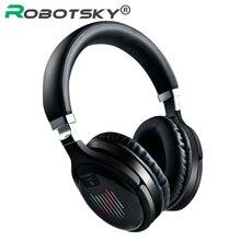 Kablosuz oyun kulaklıkları Bluetooth V4.2 katlanabilir HD Stereo kulaklık akıllı gürültü iptal kulaklıklar destek TF kart