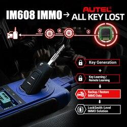 Autel MaxiIM IM608 IMMO KEY PROGRAMMING Tool OBD PK AURO OtoSys IM600 PK IM 100 MK908P MK908 MS908P MaxiSys Pro ECU Programming