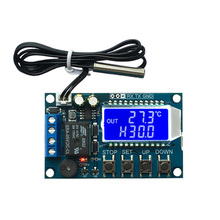 Xy-T01 цифровой термостат нагревательный Холодильный цифровой контроль температуры Переключатель Регулятор температуры модуль