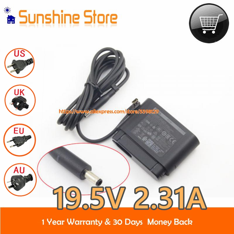 Оригинальный портативный адаптер переменного тока LA45NM170 для Dell DA45NM131 AA45NM131 и т. д., адаптер для ноутбука 19,5 в А, зарядное устройство 03RG0T 0JHJX0 ...