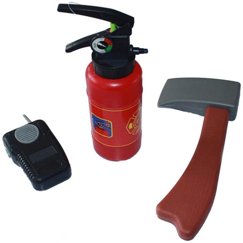 Crianças brinquedo de incêndio tampa extintor de