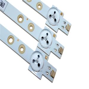 "Image 3 - 100% NEW Original LED Backlight strip 9 PCS/lot 39"" LED strip SW 39 3228 05 REV1.1 120814 5 LEDS(1 LED 3V) 420mm"