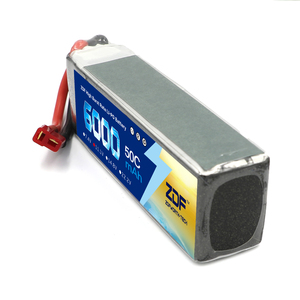 Image 2 - ZDF 2PCS 3S 6000mAh 11,1 V 50C Lipo Batterie für racer racing trx X MAXX UNLIMITDE E REVO TR 4 RC Auto RC Boot RC Drone