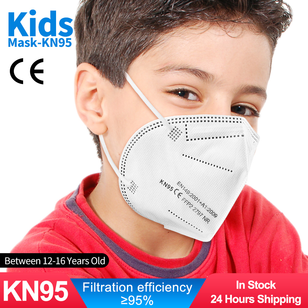 Reusable Mask Respirator Mascarillas FFP2 Kids Children's KN95 Masque for 10-100pieces