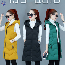 Puffer Coat Jacket Vest Slim-Fit Warm Autumn Winter Casual Women Ladies Sleeveless Female