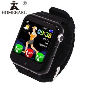 V7K Детские WIFI часы трекер Детская безопасность анти потеря жизни водонепроницаемые Смарт-часы камера SOS PK Q90 Q50 Q60 Q528 DZ09 DF33