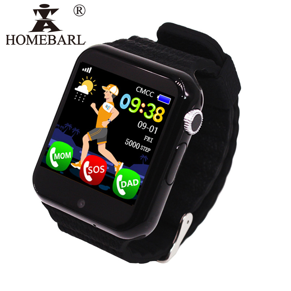 V7K <font><b>Kids</b></font> GPS <font><b>Watch</b></font> Tracker Children <font><b>Kid</b></font> Security Anti Lost Life Waterproof <font><b>Smart</b></font> <font><b>Watch</b></font> Camera SOS PK <font><b>Q90</b></font> Q50 Q60 Q528 DZ09 DF33 image