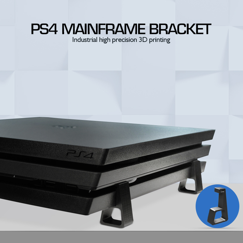 4Pcs Cooling Horizontal Version Bracket For PS4 Game Console Heighten Stand Feet For PlayStation4 Slim Pro For PS4 Accessories