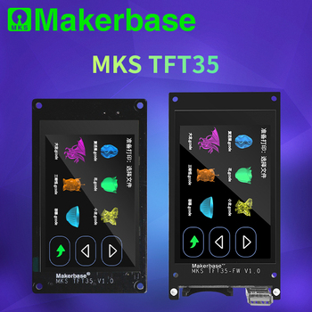 Makerbase MKS TFT35 V1.0 touch screen smart display controller 3d printer parts  3.5 inch wifi wireless Control preview Gcode - sale item Office Electronics