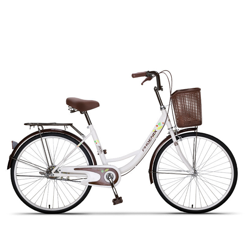 2426 fahrrad Frauen Fahrrad Erwachsenen Retro Stadt Student Fahrrad Trommel Bremse Fahrrad Für Frau bisiklet bicicleta bicicletas