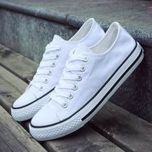 Casual flats shoes woman sneakers 2019 fashion solid breathable canvas