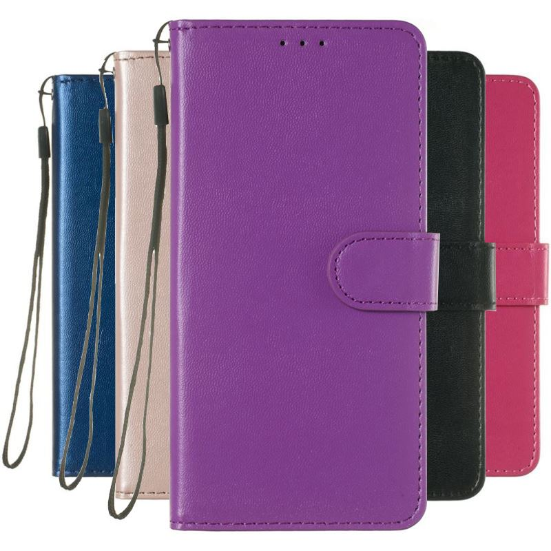 Fashion Vintage Case For <font><b>Nokia</b></font> 4.2 3.2 1 3 5 <font><b>6</b></font> 8 7 Plus 2.1 3.1 5.1 <font><b>6</b></font>.1 7.1 2018 Simple Solid Color Wallet Leather Cover P01Z image